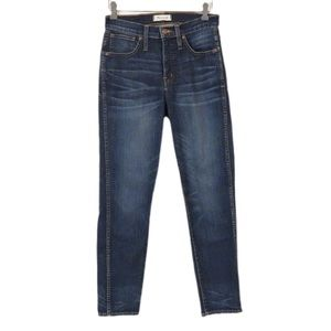 MADEWELL SLIM STRAIGHT JEANS SIZE 27